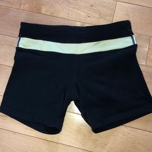 Lululemon 2 shorts